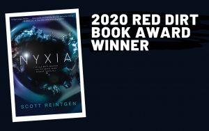 Nyxia by Scott Reintgen is the Red Dirt Book Award Winner for 2020