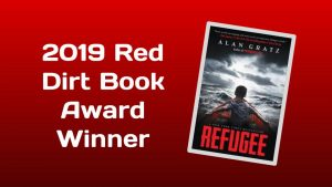 Refugee by Alan Gratz 2019 Red Dirt Book Award winner with cover of book